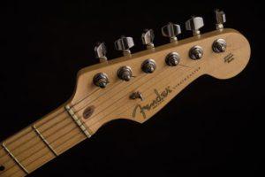A standard Fender Stratocaster