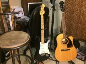 An acoustic or electric guitar?