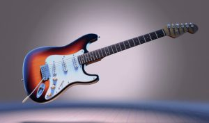 "The most expensive guitar sold is a custom made Fender ""Reach Out To Asia""  Statocaster"